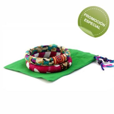 Regalo solidario-pulseras-semilla para el cambio