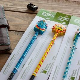 Lápices regalos solidarios