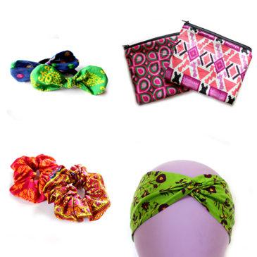 Coleteros, turbantes y monederos, las nuevas propuestas solidarias de las artesanas Semilla