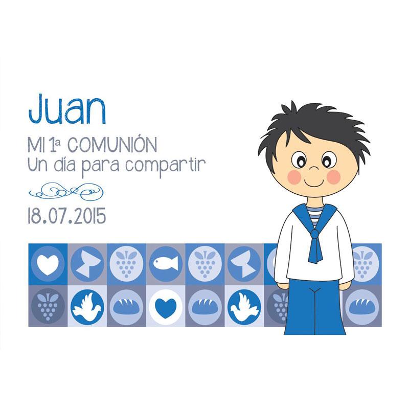 0c3791c674ce8 Tarjeta detalle - Comunión - Regalos solidarios