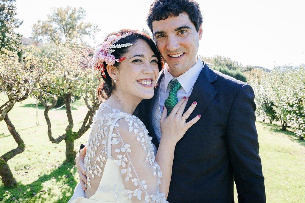 Lina y Aitor eligieron un regalo solidario para su boda