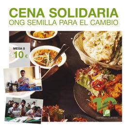 Cena solidaria - Mesa 0 - Semilla para el Cambio