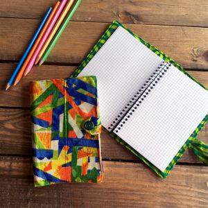 Fundas de libreta de tela indias artesanales y solidarias
