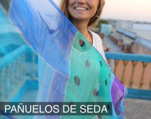 Pañuelos de seda para regalos solidarios