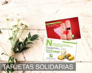 Tarjetas solidarias para regalos solidarios