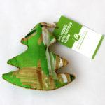 Árbol de Navidad de tela india artesanal y solidario