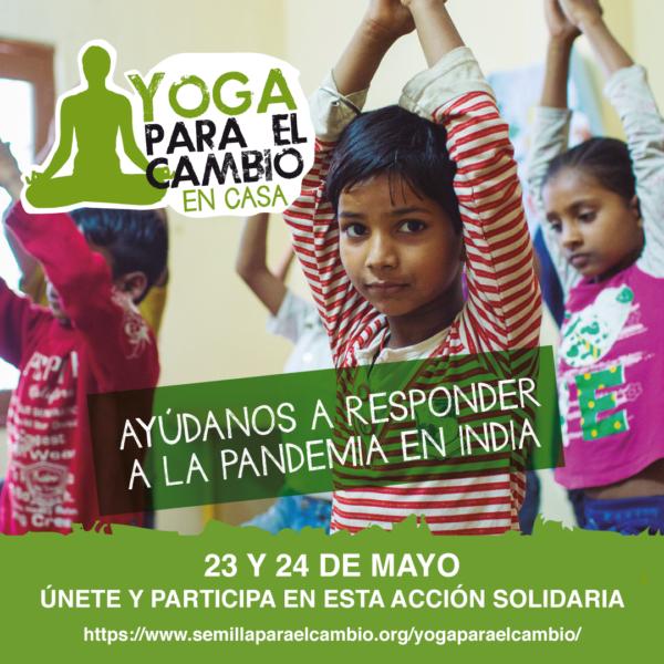 Yoga para el Cambio en Casa - 23 y 24 de mayo