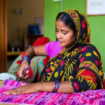Regalos solidarios - Mujer India - Semilla para el Cambio