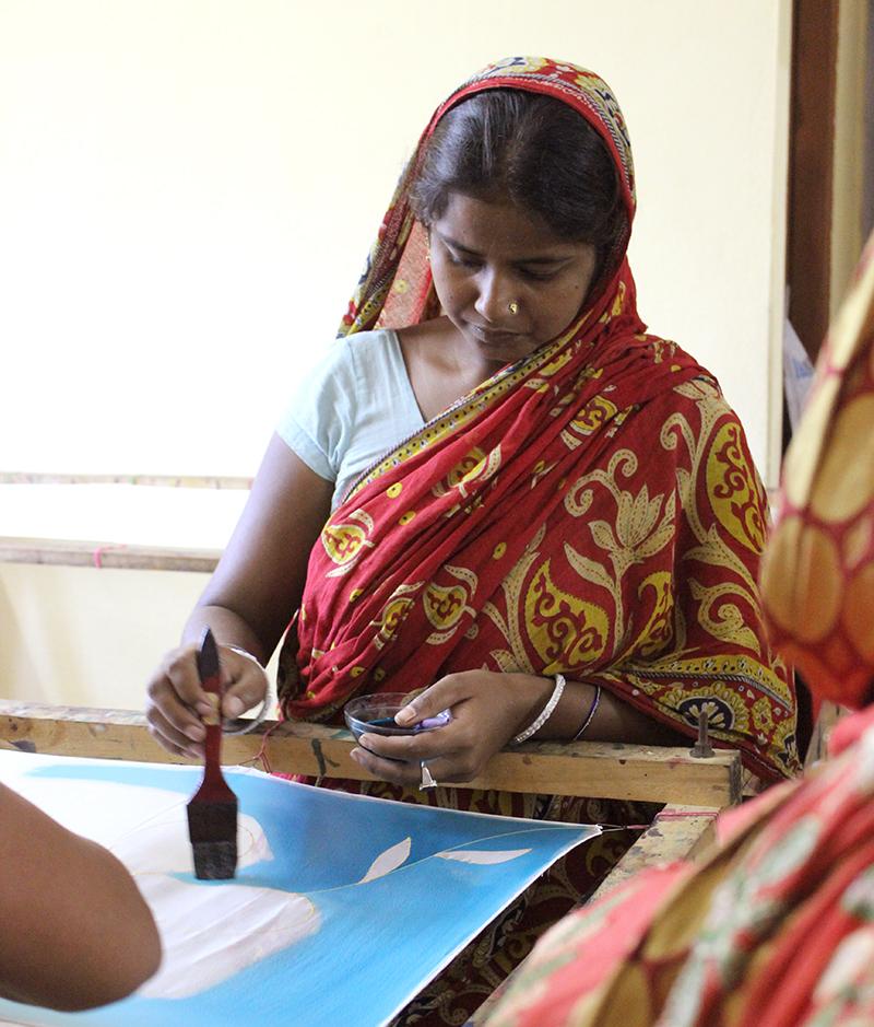 Pañuelos de seda - Marina Silk - Semilla para el cambio